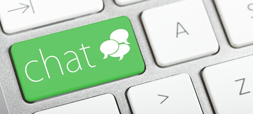 Web chat